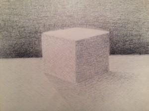 Tecknad kub